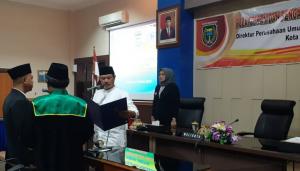 Pelantikan dan Sumpah Jabatan Direktur Bank Daerah Kota Madiun
